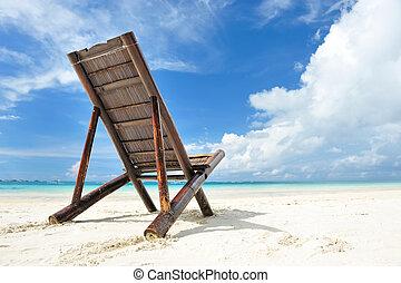 salotto, chaise, spiaggia