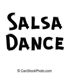 salsa, baile, etiqueta