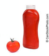 salsa tomate tomate, salsa, blanco