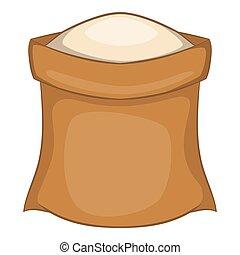 Salt icon, cartoon style