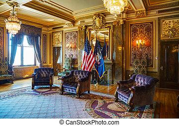 Utah state reception room