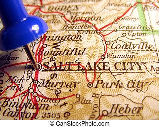 Salt Lake City, Utah, the way we looked at it in 1949