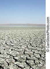 salt lakes and barren lands in Turkey