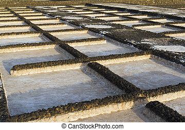 Salt marsh of Janubio - Lava basins of the salt marsh of...