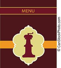 salt miller menu design - salt miller restaurant menu design...