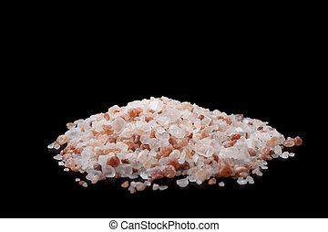 Salt on Black