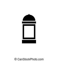 Salt Shaker Icon Vector Illustration