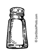 Salt shaker.
