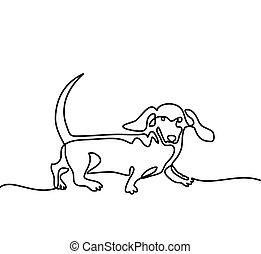 saltare, cane, gioco