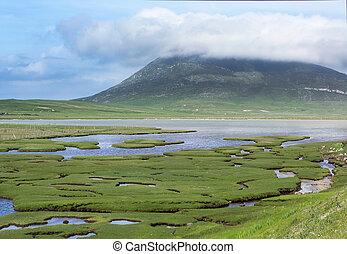 Saltings on Isle of Harris