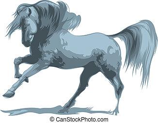 salto, cavalo