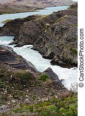Salto Grande in Torres del Paine National Park