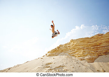 salto, sujeito