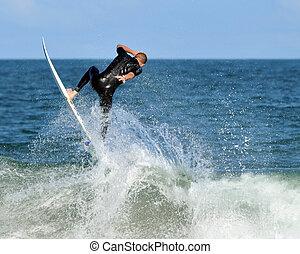 salto, surf