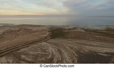 Salton Sea San Andreas Fault California Imperial Valley -...