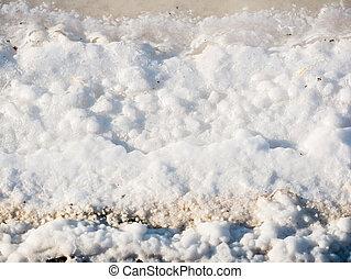 saltworks in Huelva, Spain