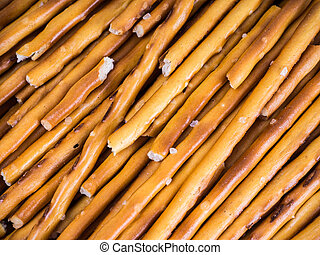 salty cracker pretzel sticks background pattern