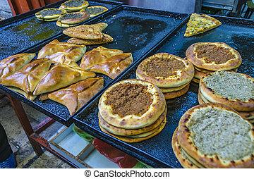 Salty Meal and Flour Food, Jerusalem Street Market