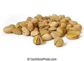 Salty pistachios