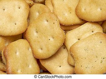 salty snack closeup