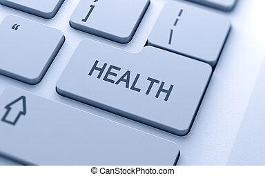 salud, botón
