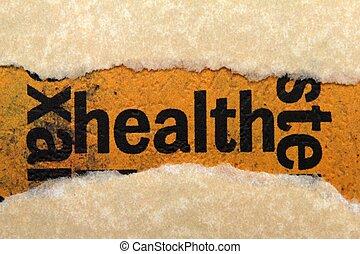 salud, concepto