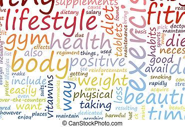 salud, condición física