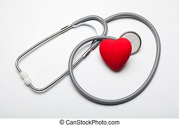 salud, de, corazón