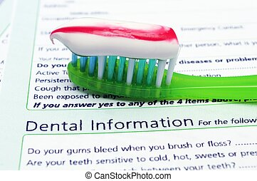 salud dental, concepto