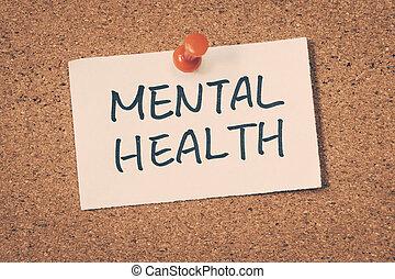 salud, mental