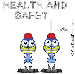 salud, seguridad, señal