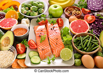 salud, selección, alimento