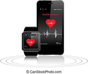 salud, smartphone, apps, smartwatch