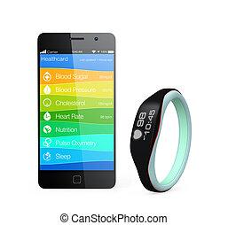 salud y buena salud, información, app