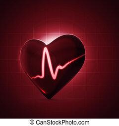 salud, y, médico, fondos, para, su, diseño