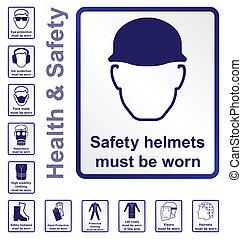 salud y seguridad, señales