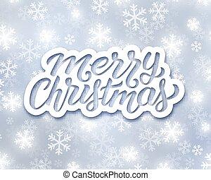 saludo, alegre, alegre, acebo, tarjeta de navidad