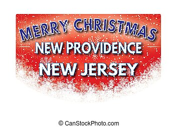 saludo, providencia, jersey, alegre, nuevo, tarjeta de...
