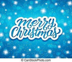 saludo, vector, diseño, alegre, navidad., tarjeta