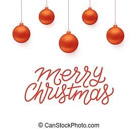 saludo, vector, diseño, feliz navidad, tarjeta