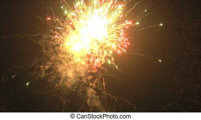 salute - fireworks