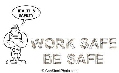 salute sicurezza, messaggio