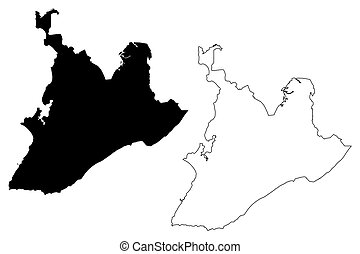 Salvador City (Federative Republic of Brazil, Bahia State) ...