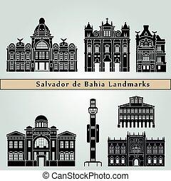 Salvador de Bahia V2 Landmarks - Salvador de Bahia landmarks...
