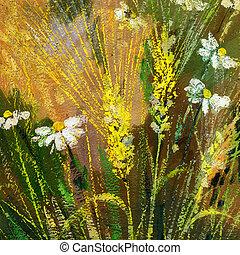 salvaje, flores