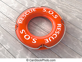 salvamento, rescate, dispositivo