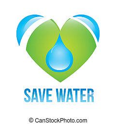 salvar, água