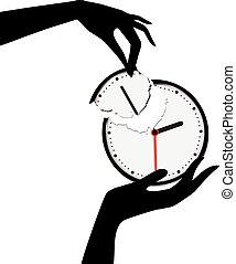 salvar, seu, tempo