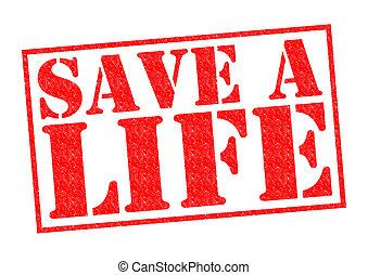 salvar, um, vida