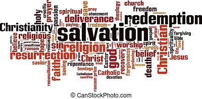 Salvation word cloud